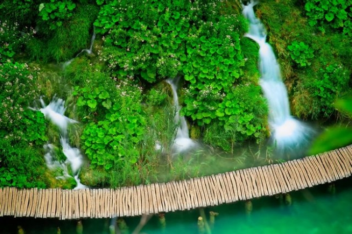 Cycling Croatia's National Parks - Plitvice Lakes