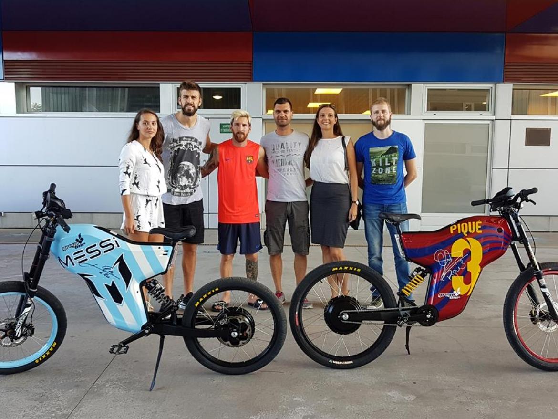 total croatia cycling   croatian greyp bikes excite piqu messi and f bregas